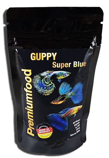 Guppy Super Blue, 80gr